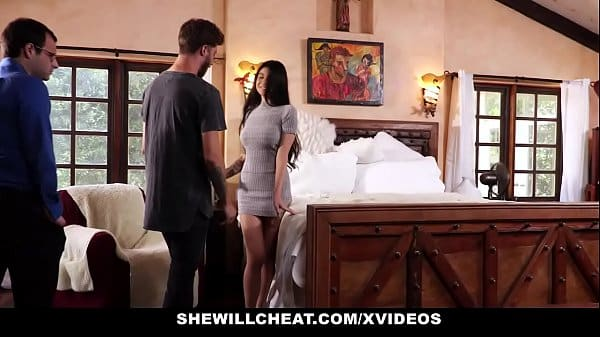 SheWillCheat – Unhappy Wife Fucks Her Boytoy In Front Of Husband